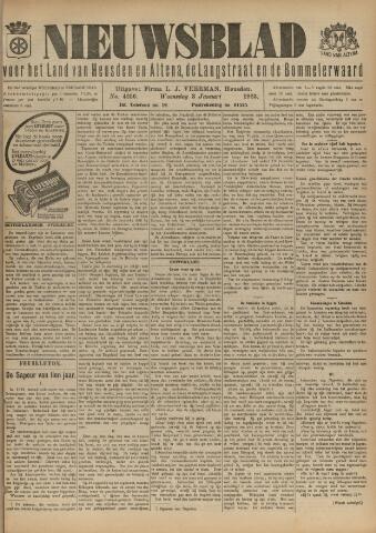 Nieuwsblad het land van Heusden en Altena de Langstraat en de Bommelerwaard 1923-01-03
