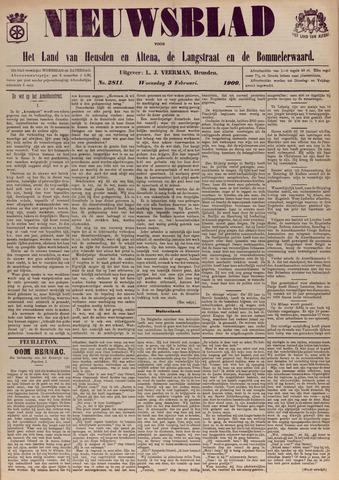 Nieuwsblad het land van Heusden en Altena de Langstraat en de Bommelerwaard 1909-02-03