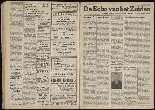 Echo van het Zuiden 1948-10-07