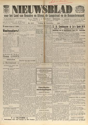 Nieuwsblad het land van Heusden en Altena de Langstraat en de Bommelerwaard 1941-09-26