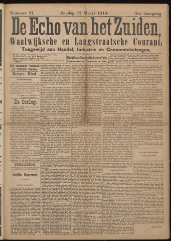 Echo van het Zuiden 1916-03-12