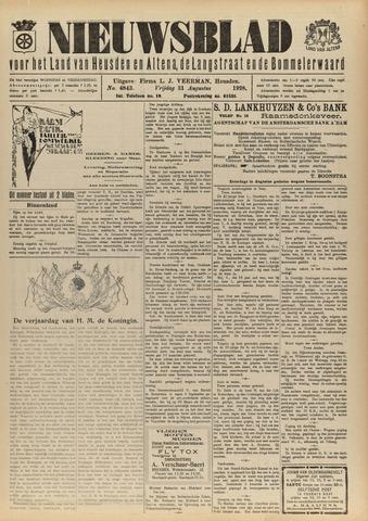 Nieuwsblad het land van Heusden en Altena de Langstraat en de Bommelerwaard 1928-08-31