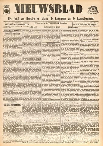 Nieuwsblad het land van Heusden en Altena de Langstraat en de Bommelerwaard 1904-12-03