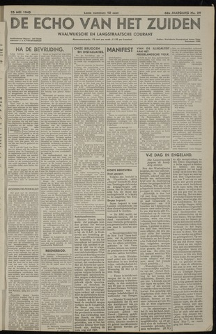Echo van het Zuiden 1945-05-25