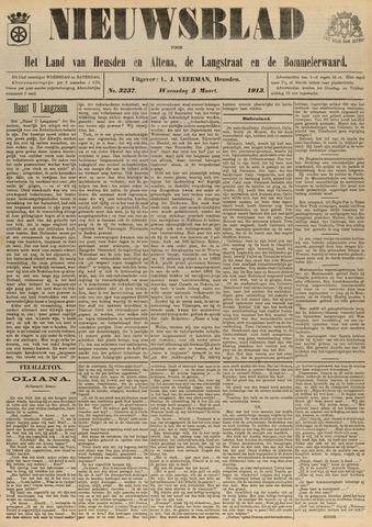 Nieuwsblad het land van Heusden en Altena de Langstraat en de Bommelerwaard 1913-03-05