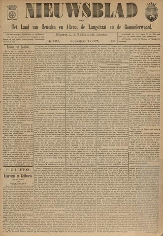 Nieuwsblad het land van Heusden en Altena de Langstraat en de Bommelerwaard 1894-10-24