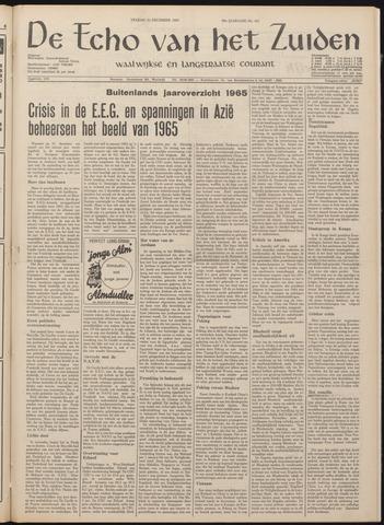 Echo van het Zuiden 1965-12-31