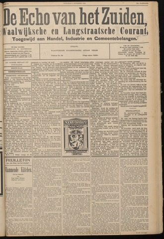Echo van het Zuiden 1932-11-02