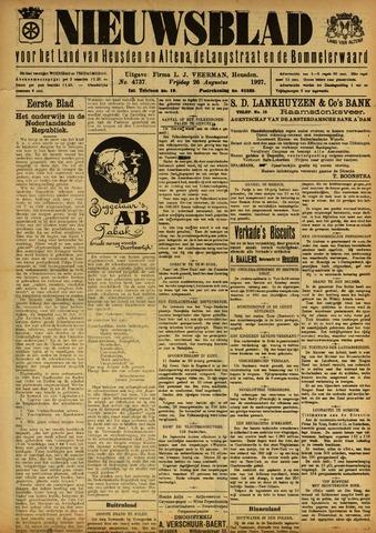 Nieuwsblad het land van Heusden en Altena de Langstraat en de Bommelerwaard 1927-08-26