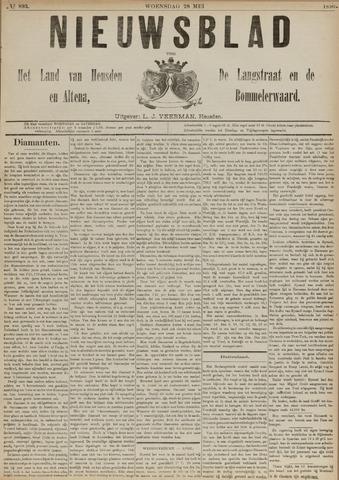 Nieuwsblad het land van Heusden en Altena de Langstraat en de Bommelerwaard 1890-05-28