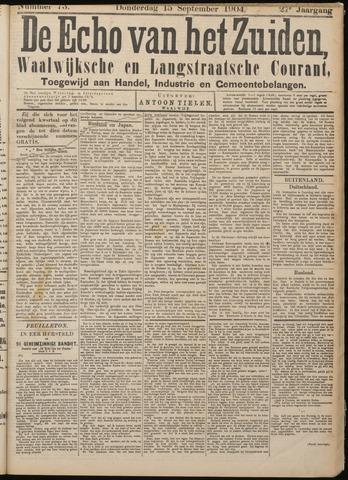 Echo van het Zuiden 1904-09-15