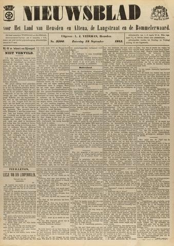Nieuwsblad het land van Heusden en Altena de Langstraat en de Bommelerwaard 1915-09-18