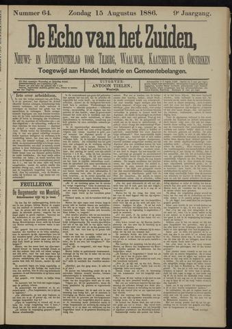Echo van het Zuiden 1886-08-15
