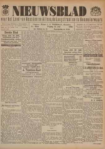 Nieuwsblad het land van Heusden en Altena de Langstraat en de Bommelerwaard 1924-07-11
