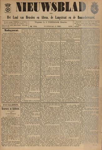 Nieuwsblad het land van Heusden en Altena de Langstraat en de Bommelerwaard 1894-12-05