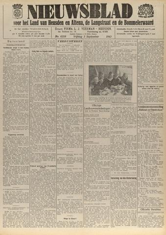 Nieuwsblad het land van Heusden en Altena de Langstraat en de Bommelerwaard 1943-09-03