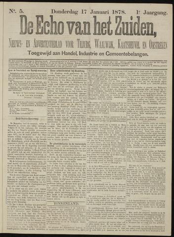 Echo van het Zuiden 1878-01-17