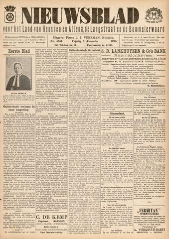Nieuwsblad het land van Heusden en Altena de Langstraat en de Bommelerwaard 1925-11-06
