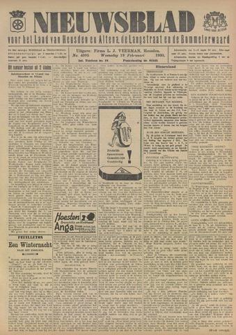 Nieuwsblad het land van Heusden en Altena de Langstraat en de Bommelerwaard 1930-02-19