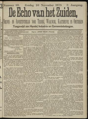 Echo van het Zuiden 1878-11-10
