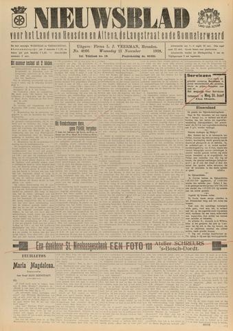 Nieuwsblad het land van Heusden en Altena de Langstraat en de Bommelerwaard 1928-11-21