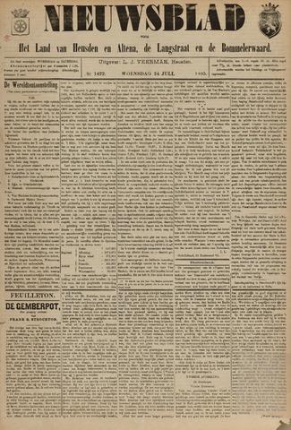 Nieuwsblad het land van Heusden en Altena de Langstraat en de Bommelerwaard 1895-07-24
