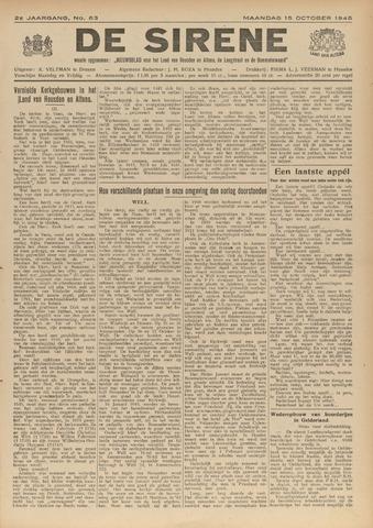 De Sirene 1945-10-15