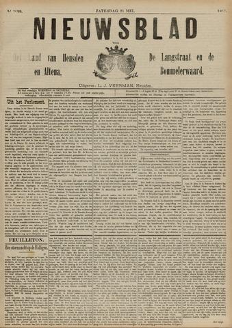 Nieuwsblad het land van Heusden en Altena de Langstraat en de Bommelerwaard 1892-05-21