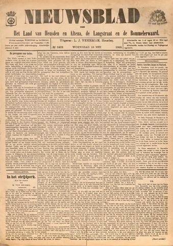 Nieuwsblad het land van Heusden en Altena de Langstraat en de Bommelerwaard 1905-05-10