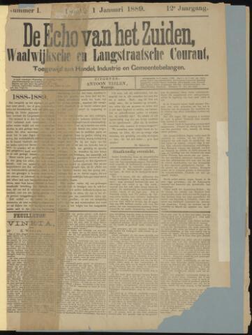 Echo van het Zuiden 1889-01-01