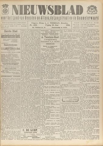 Nieuwsblad het land van Heusden en Altena de Langstraat en de Bommelerwaard 1924-06-20
