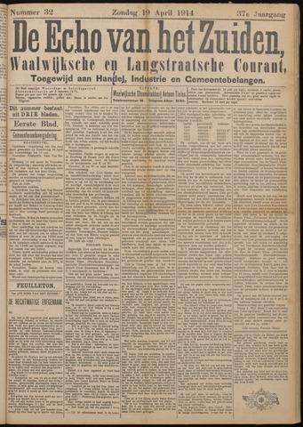 Echo van het Zuiden 1914-04-19