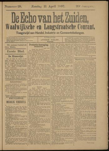 Echo van het Zuiden 1897-04-11