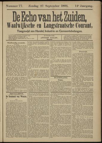 Echo van het Zuiden 1891-09-27