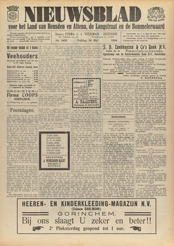 Nieuwsblad het land van Heusden en Altena de Langstraat en de Bommelerwaard 1934-05-18