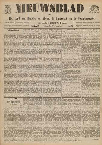 Nieuwsblad het land van Heusden en Altena de Langstraat en de Bommelerwaard 1906-08-08