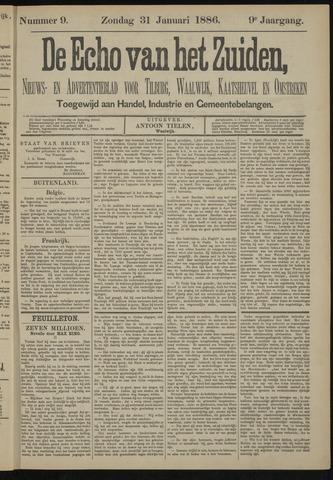 Echo van het Zuiden 1886-01-31