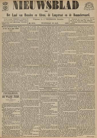 Nieuwsblad het land van Heusden en Altena de Langstraat en de Bommelerwaard 1902-01-22