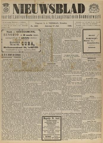 Nieuwsblad het land van Heusden en Altena de Langstraat en de Bommelerwaard 1920-07-17