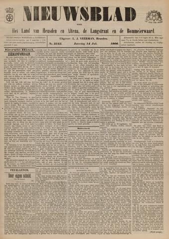 Nieuwsblad het land van Heusden en Altena de Langstraat en de Bommelerwaard 1906-07-14