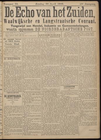 Echo van het Zuiden 1906-04-29