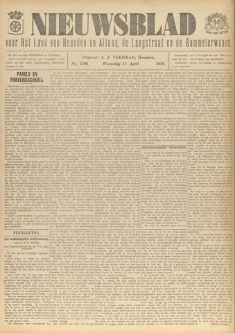 Nieuwsblad het land van Heusden en Altena de Langstraat en de Bommelerwaard 1918-04-17