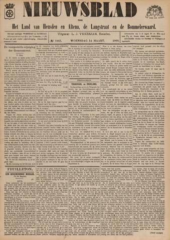 Nieuwsblad het land van Heusden en Altena de Langstraat en de Bommelerwaard 1900-03-14