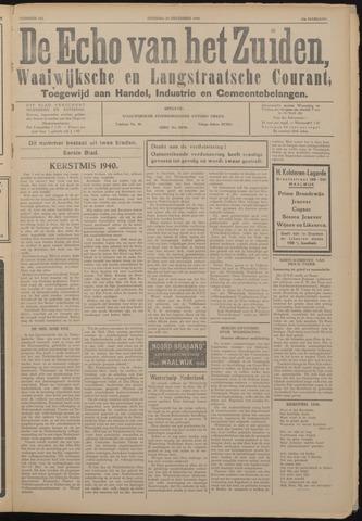 Echo van het Zuiden 1940-12-24
