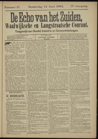 Echo van het Zuiden 1894-06-14