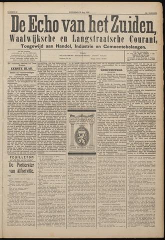 Echo van het Zuiden 1922-08-30