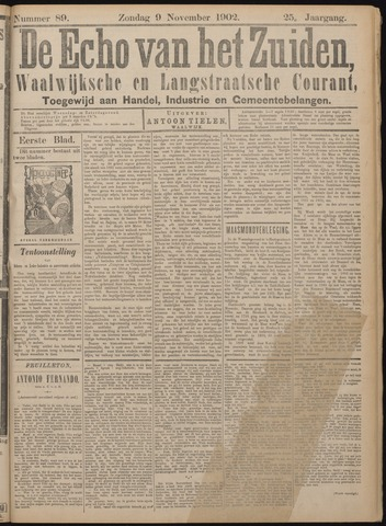 Echo van het Zuiden 1902-11-09