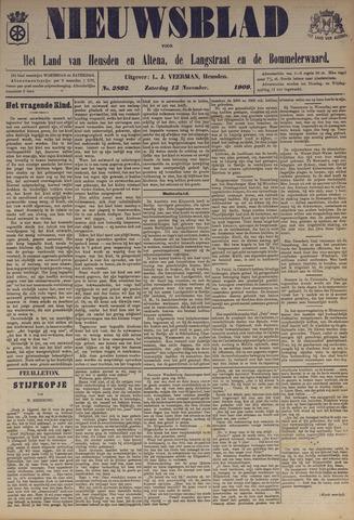Nieuwsblad het land van Heusden en Altena de Langstraat en de Bommelerwaard 1909-11-13
