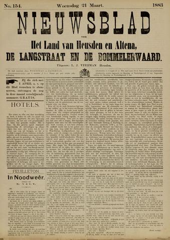 Nieuwsblad het land van Heusden en Altena de Langstraat en de Bommelerwaard 1883-03-21