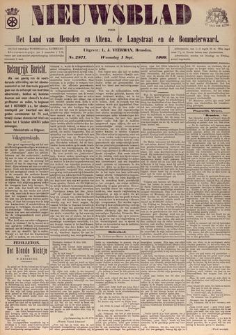 Nieuwsblad het land van Heusden en Altena de Langstraat en de Bommelerwaard 1909-09-01